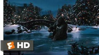 King Kong (7/10) Movie CLIP Ice Skating In Central Park