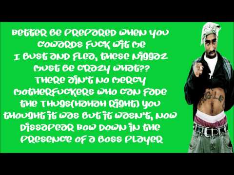 2Pac - 2 Of Amerikaz Most Wanted - Snoop Dogg Lyrics ...