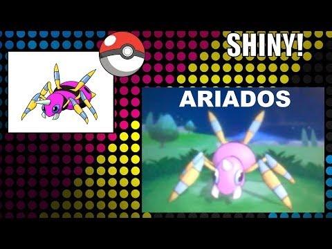 Pokemon X and Y Shiny Ariados! 800 - 840 RE!
