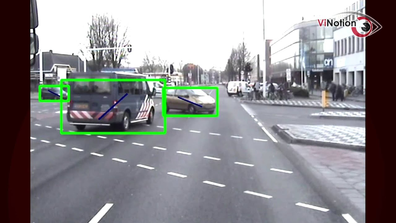 Vinotion Object Detection From Moving Vehicle Car