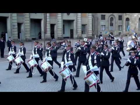 Utmarsch - Hemvärnets Musikkår Eslöv / Swedish Home Guard Band of Eslöv