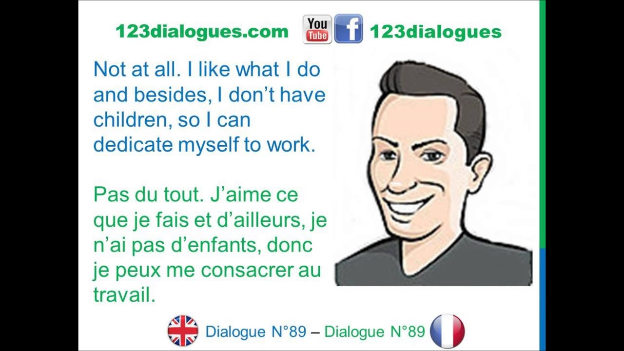 dialogue 89 - english french anglais fran u00e7ais