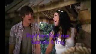 Right Here Right Now [Gabriella & Troy] [Full Song