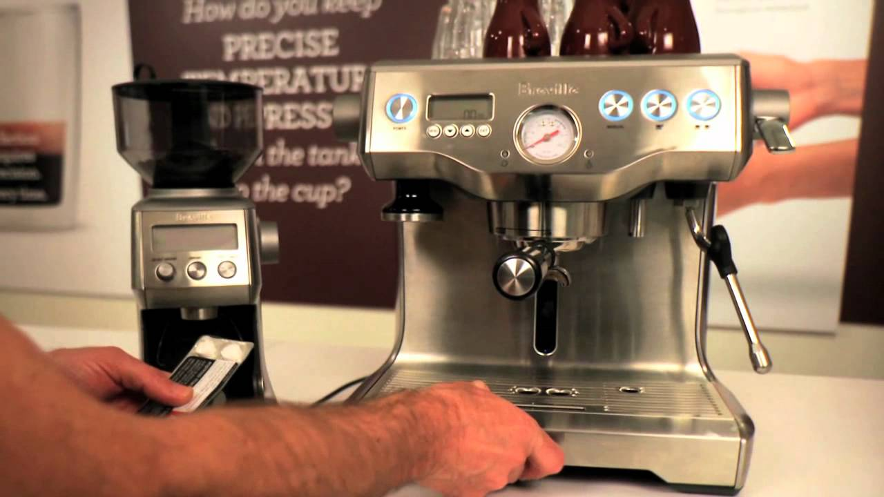 how to clean breville barista