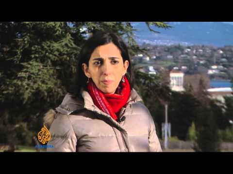 Syria peace talks struggle in Switzerland