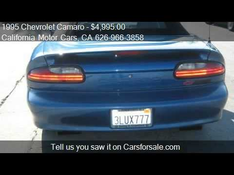 1995 Chevrolet Camaro Z28 CONVERTIBLE - for sale in Covina,