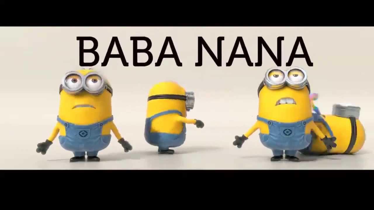 Minions - Banana Song(歌詞篇) - YouTube