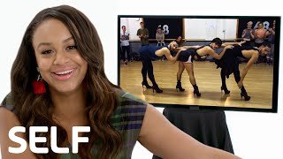 Nia Sioux Reviews the Internet's Biggest Viral Dance Videos | SELF
