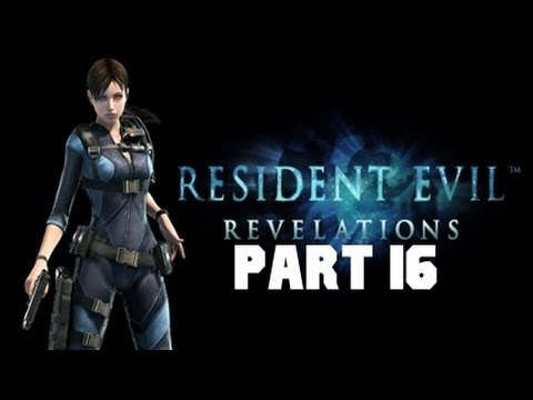 Resident Evil Revelations Gameplay Playthrough Part 16 - The Regia Solis 1/2