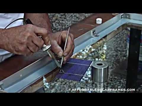 Monte Seu Painel Solar Fotovoltaico Youtube