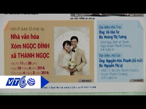 Tấm thiệp cưới độc nhất Việt Nam | VTC