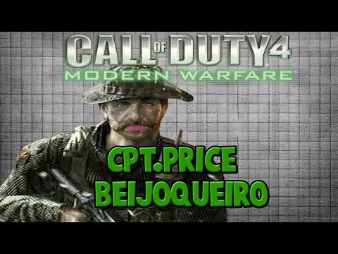 Call Of Duty 4MW - Cpt.Price Beijoqueiro