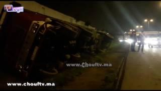 بالفيديو.. انقلاب رموك كبير يُربك حركة سير الطريق السيار بالدار البيضاء   |   بــووز