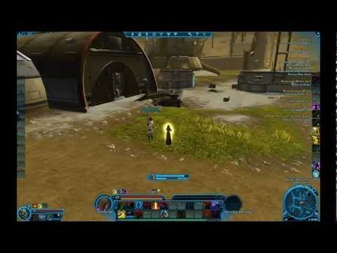 Jedi Shadow (Consular) Combat SWTOR Star Wars The Old Republic Beta
