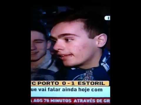 Reação dos adeptos educados Porto 0-1 Estoril