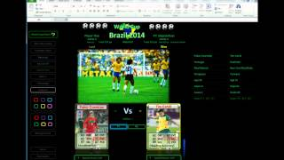 Blank World Cup 2014 Brazil Chart And Danger Men Game In