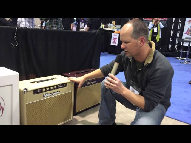 Ben Fargen Shows New Line of Fargen Amps at NAMM 2014