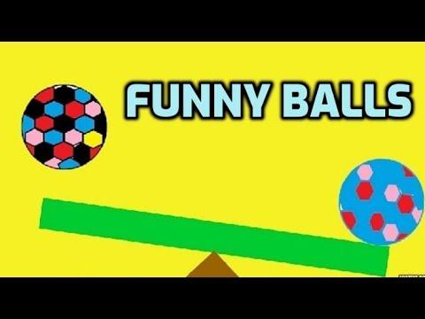 Funny balls game (no music). Cartoon for kids. Ball game. لعبة الكرة Игра с мячом