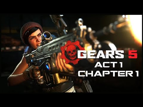 Crazy Gore But Funny Easter Egg. [Gears Of War 5] [CO-OP #1]