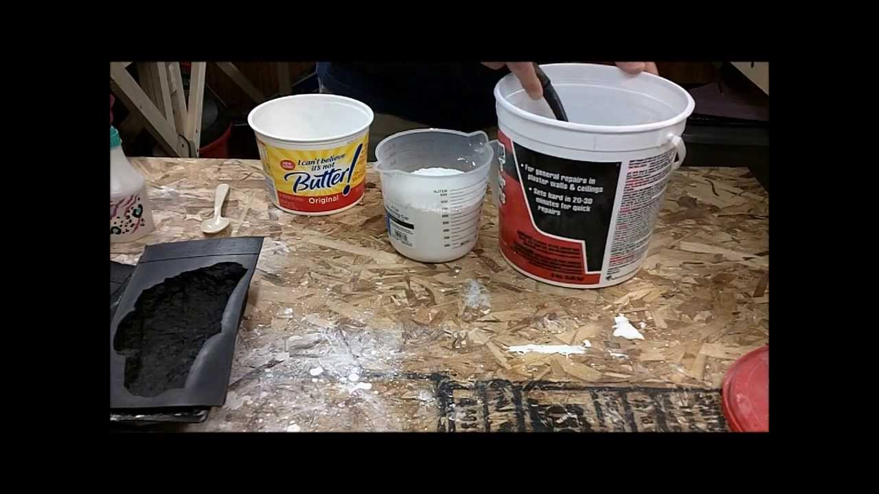 How To Mix Plaster Of Paris