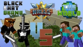 Minecraft Minigame: The Walls w/ Ukanu