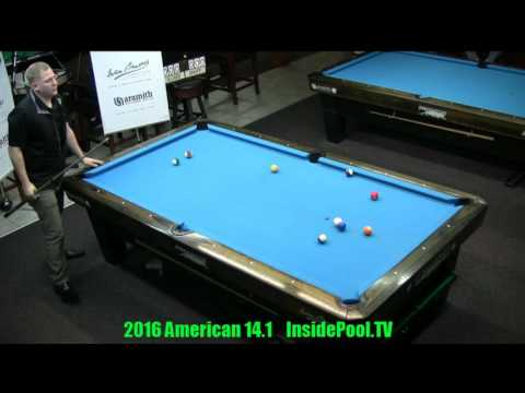 2016 American 14 1 Tournament Brandon Shuff VS David Alciade