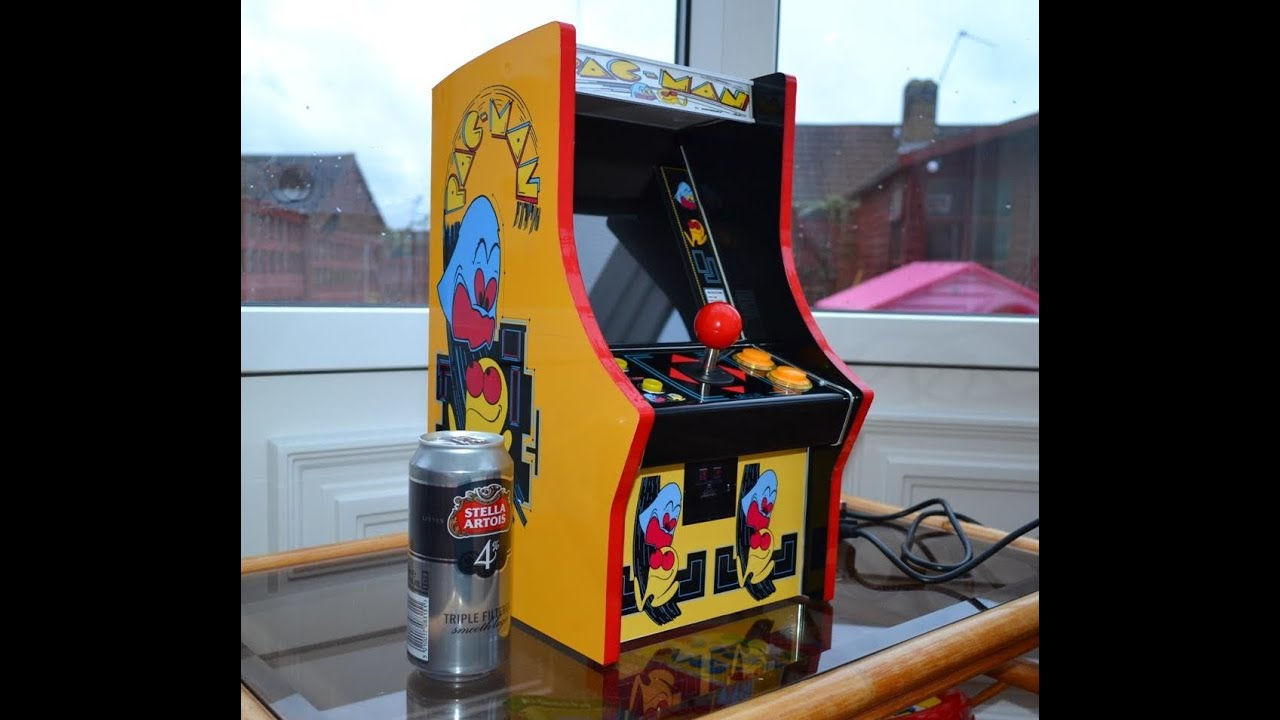 mini arcade machine pacman