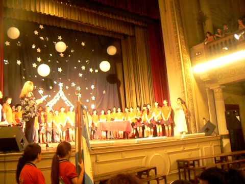 Acto De Fin De Curso. Egresados 2011 .