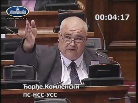 Ђорђе Комленски Осуда претњи упућених Влади Бабићу 19.06.2018.