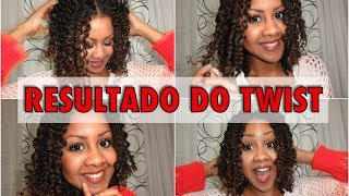 Resultado Do Twist Normal E Do Twist Teste De 3 Mechas