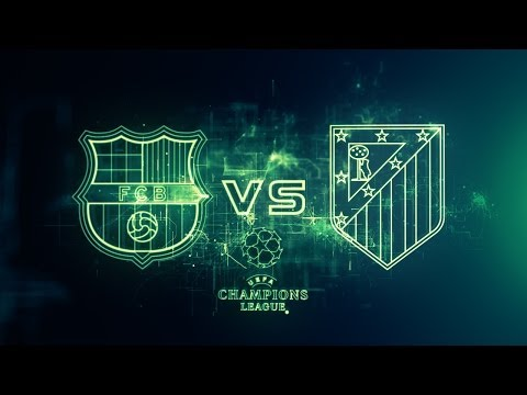 Barcelona Vs Atletico Madrid UEFA Champions League Cuartos de Final Ida