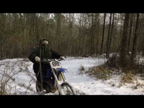 Snow Romp on YZ85 Fail 2014