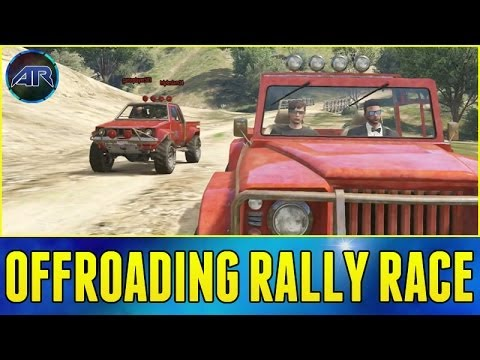 Grand Theft Auto 5 Online : Offroad Rally Racing!!! w/ DrTom