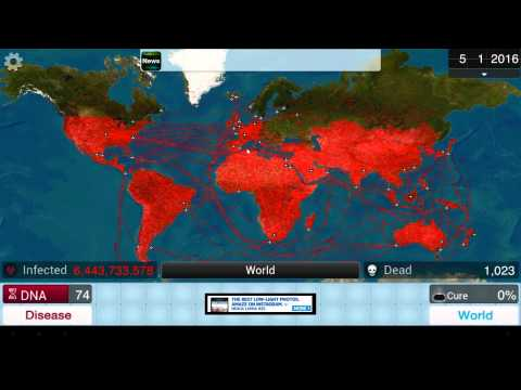 Plague Inc. Bacteria Level Blasthrough on Normal