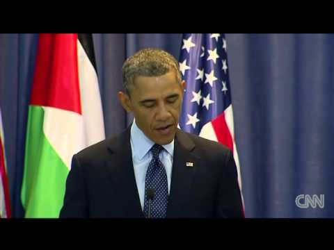 President Obama Peace Is Possible But See The World As Palestinians Do