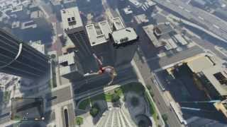 GTA V: How To Survive ANY FALL! Testing A Few Different