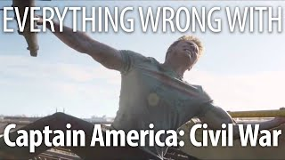 Everything Wrong With Captain America: Civil War