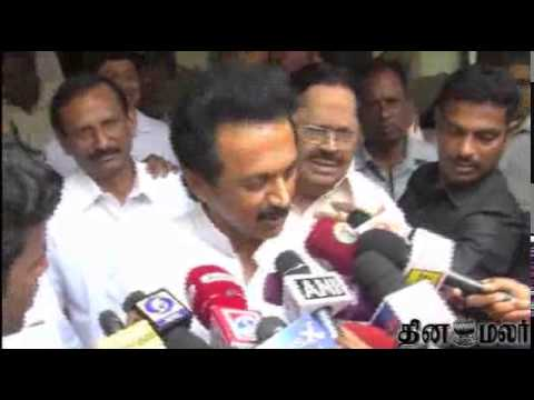 If People of Tamilnadu Happy we are also Happy says DMK Stalin after Losing in Elections