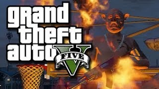 GTA 5 Online Funny Moments! (Easter Bunny, Dump Truck Fun, and More!)