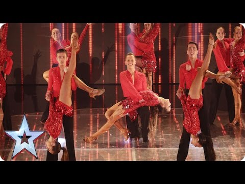 The Ystrad Fawr Dancers' Beyoncé routine is red hot | Semi-Final 1 | Britain's Got Talent 2016
