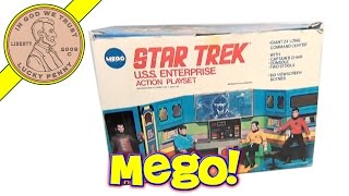 Star Trek Action Play Set, 1974 Mego Toys USS Enterprise