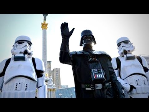 Darth Vader Runs for President in Ukraine