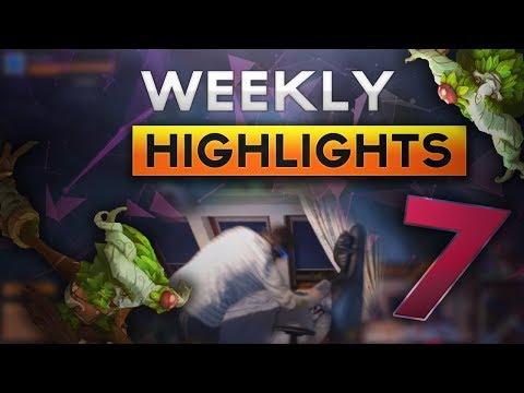 LoL Weekly Highlights - Rush Lee Sin Inspired Gameplay, Genius Ivern Ganks and Golden Nidalee Plays
