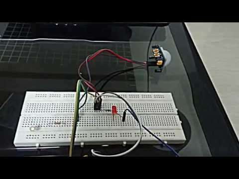 Theft Detection using PIR and Arduino