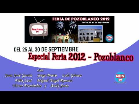 Cabecera Especial Feria Pozoblanco - 2012