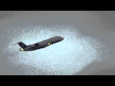 US Airways Express CRJ-200 Takeoff