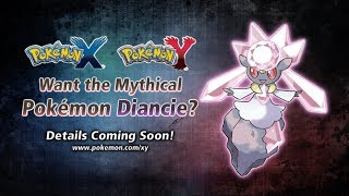 Meet Diancie In Pokémon X And Pokémon Y