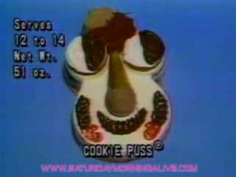 Cookie Puss Cake Commercial