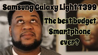 Samsung Galaxy Light T399 Box Opening & Quick Look 1.4