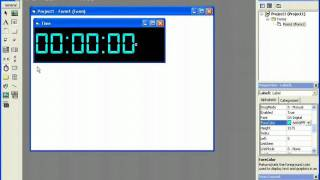 How To Make A Cool Digital Clock In Visual Basic 6.0